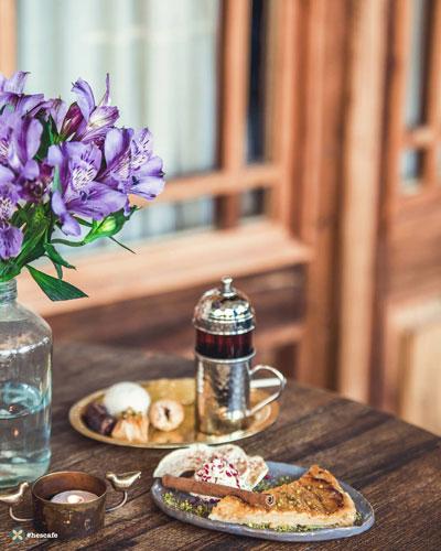 تنوع غذای ایرانی حس کافه | حس کافه