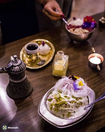 معرفي بهترين کافه ايراني   حس کافه